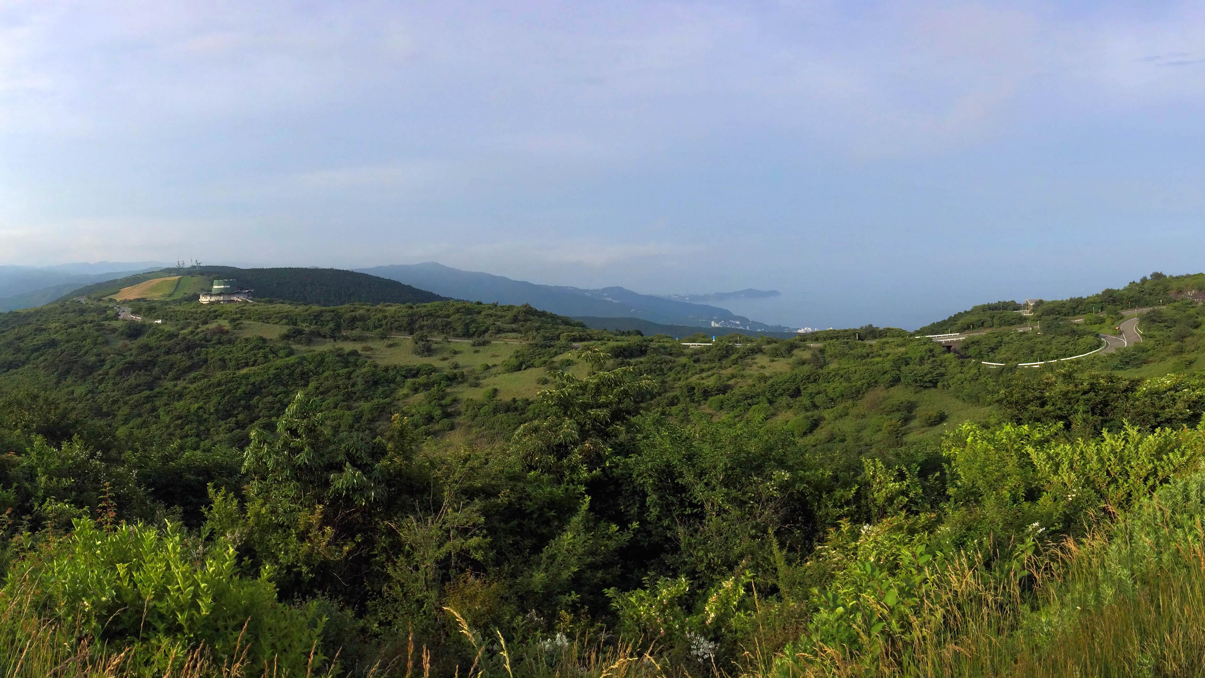 伊豆スカイライン玄岳パーキング